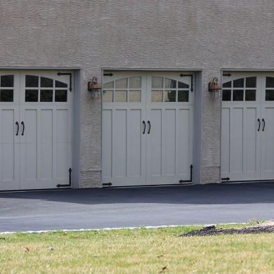 Paint Grade Carriage Door | Plymouth