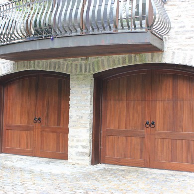Stain Grade Carriage Door | Narberth