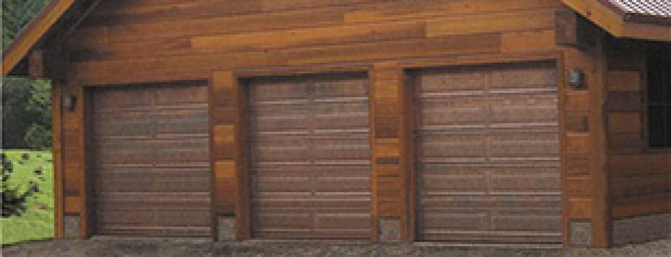 Martin Copper Garage Door