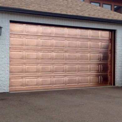 Raised Panel True Copper Door | Worcester