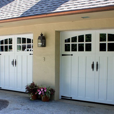 Paint Grade Wood Carriage Door | Penn Valley