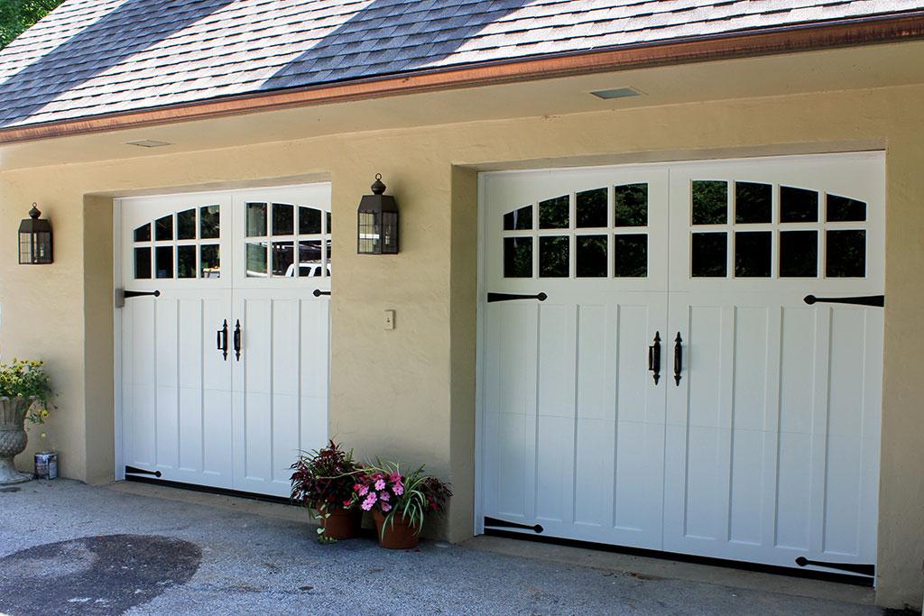 Paint Grade Wood Carriage Door Penn Valley