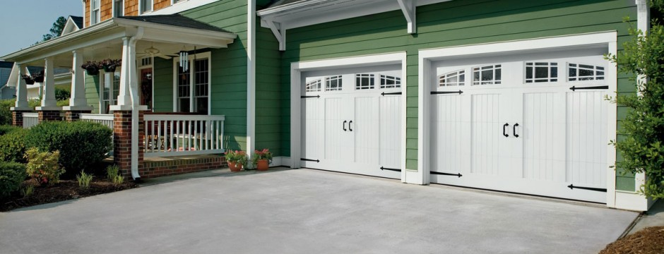 Wood Carriage House Door