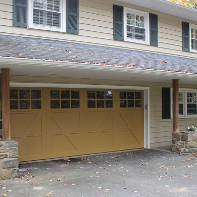 Paint Grade Carriage Doors | Willow Grove
