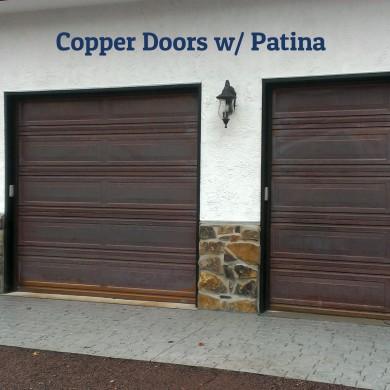 Copper Garage Door Gallery
