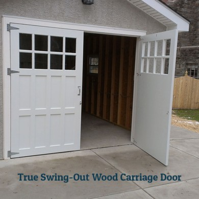 True Swing-Out Carriage Door | Drexel Hill, PA