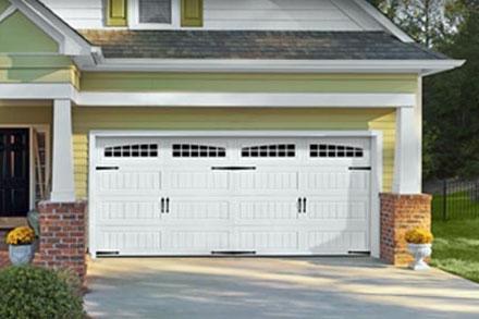 Amarr Oak Summit Carriage House Garage Door