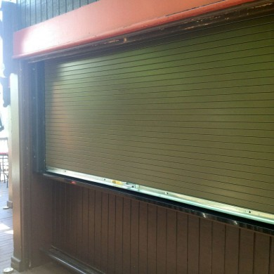 Cafeteria Counter Shutter