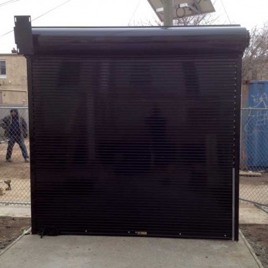 Rolling Steel Security Door