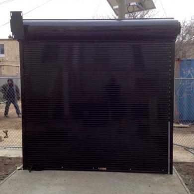 Rolling Steel Security Door
