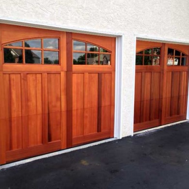 Stain Grade Carriage Door | Lansdale, PA