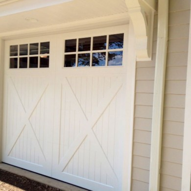 Paint Grade Carriage Door | Newtown Square