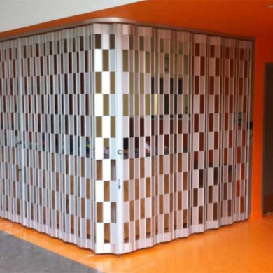 Folding Grille | Wissahickon Charter School