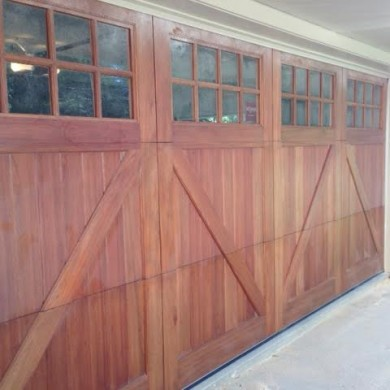 Wood Carriage Door | Bryn Mawr