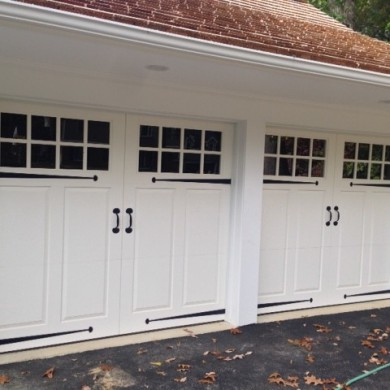 Vinyl Carriage Door | Devon PA