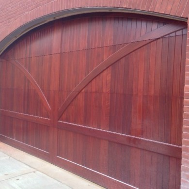 Mahogany Carriage Door | Philadelphia