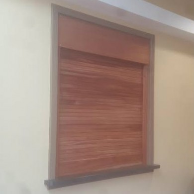 Wood Rolldown Shutter | Horsham