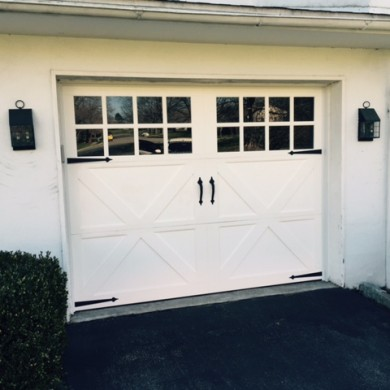 Vinyl Carriage Door | Phoenxville PA