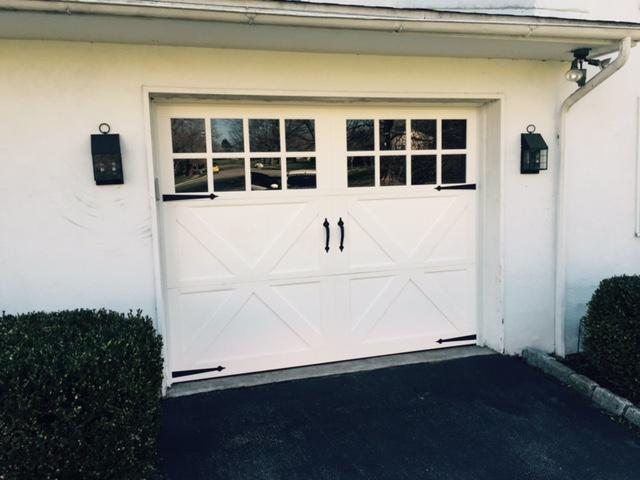 Carriage garage door backyards small garage doors for 14x7 garage door