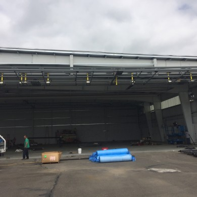 Airplane Hanger 78'x22' | Sterling Helicopter
